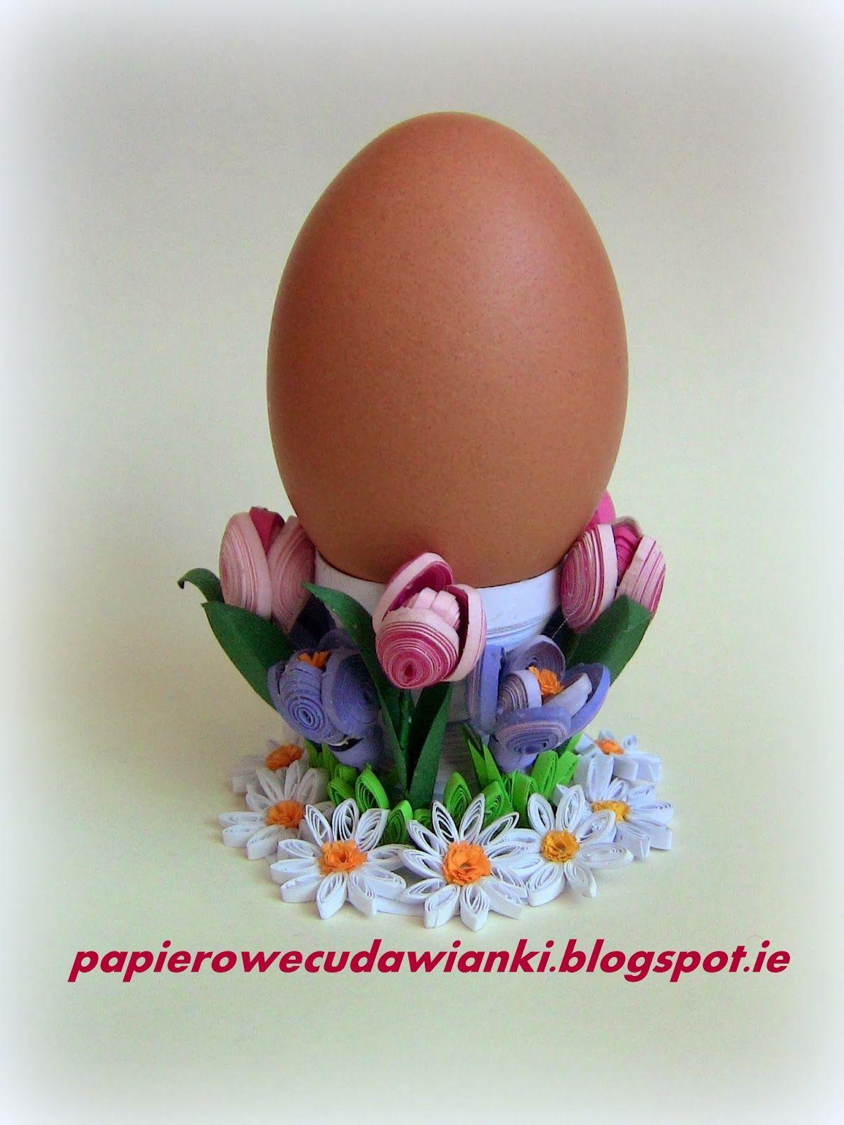 To co robię i co lubię: Quilling-jajczarka
