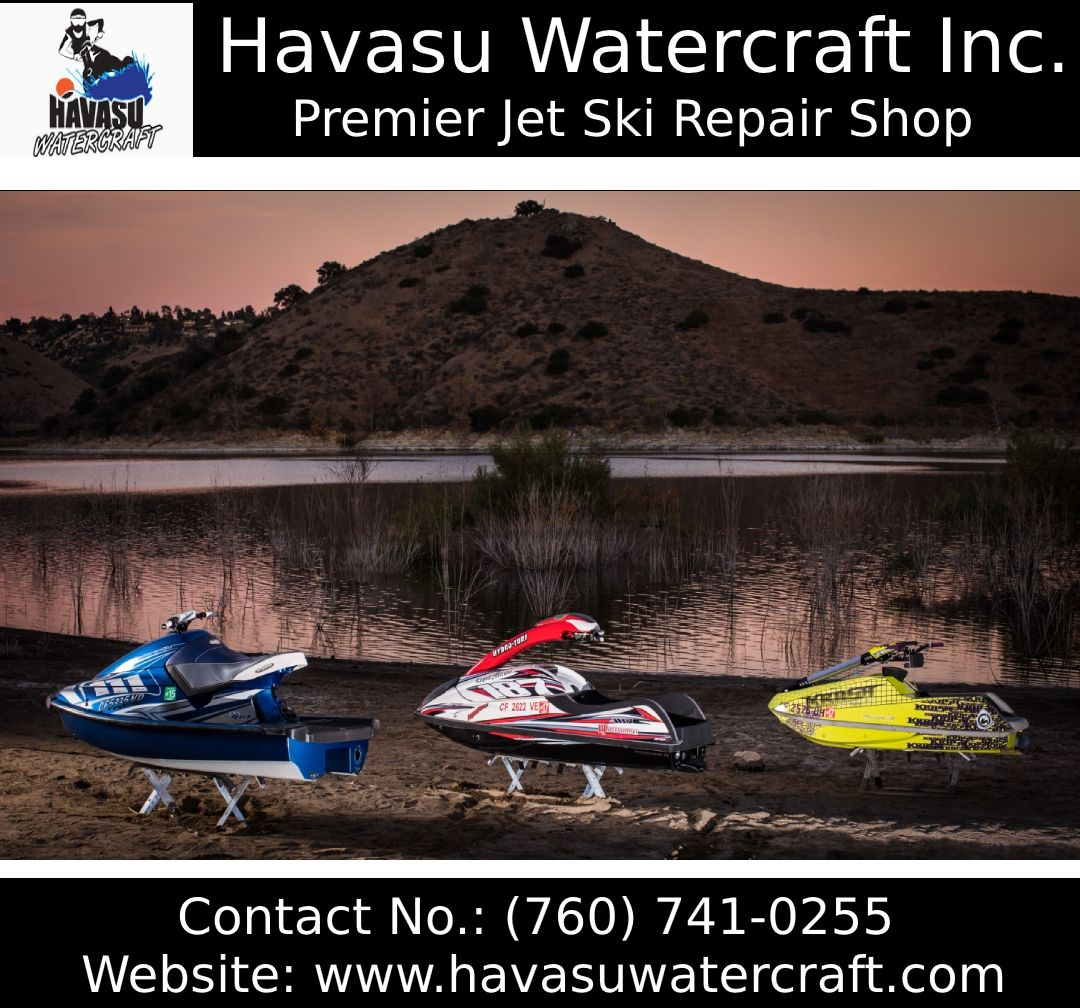 Havasu Watercraft Inc Provides 100 Genuine Kawasaki Jet Ski Parts