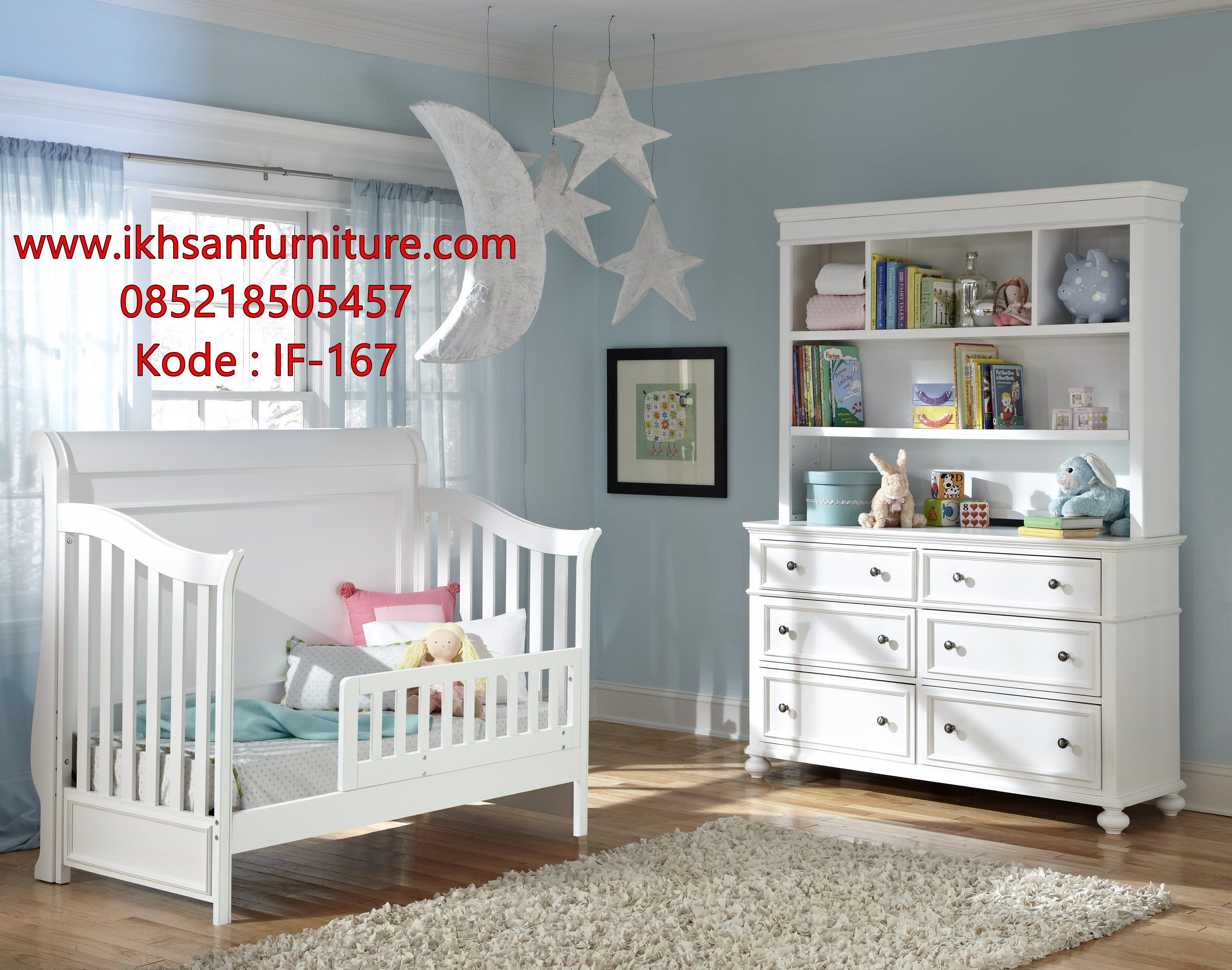 Jual Tempat Tidur Bayi Kayu Minimalis Modern Tempat Tidur Bayi