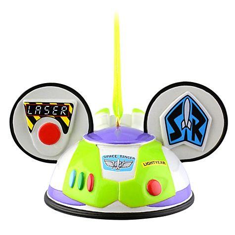Limited Edition Ear Hat Buzz Lightyear Ornament