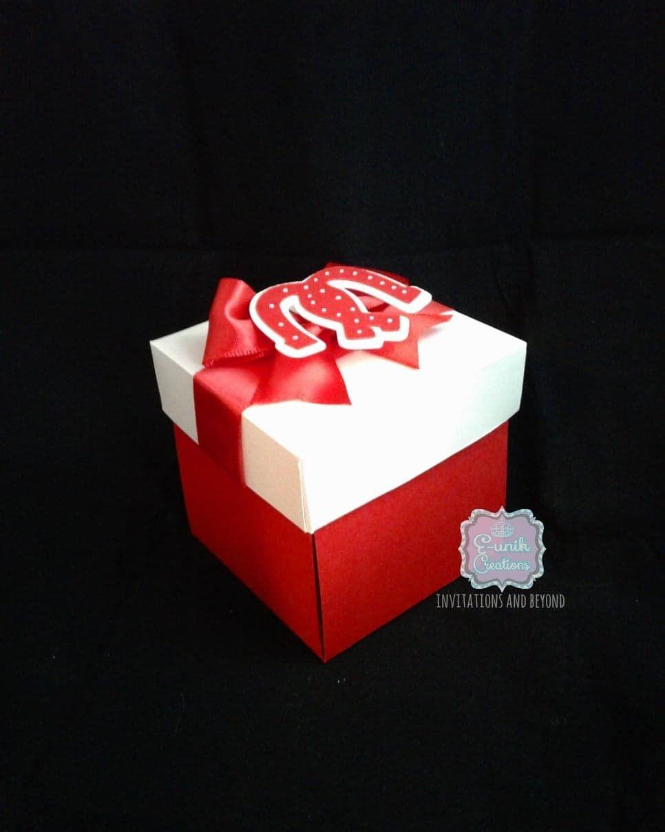 Western Wedding Box Invitation-Wedding Explosion Box Invitation ...