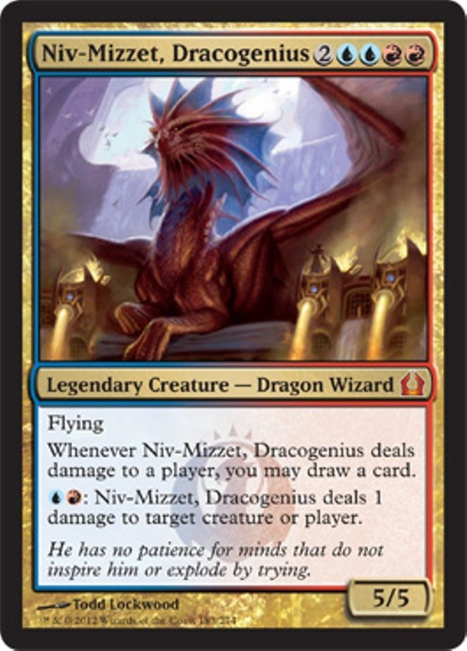 mtg izzet deck blue red niv mizzet dragon cyclops magic the