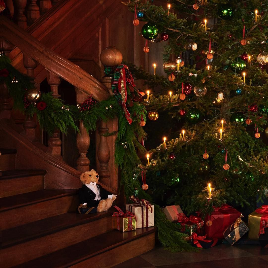 Ralph Lauren On Instagram May Your Holidays Be Bright Fun And Full Of Warmth Rl50 Happyholidays Holiday Christmas Tree Decorations Magical Christmas