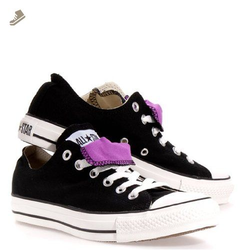 f5dab43113c CONVERSE Women s AS Double Tongue Ox (Black Iris Orchid 7.0 M) - Converse  chucks for women ( Amazon Partner-Link)