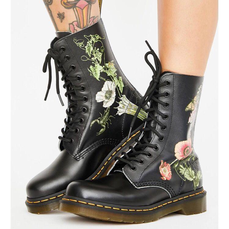 Dr. Martens Shoes | New Dr Martens Wild Botanical Goth