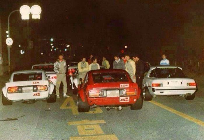 Oldschool Street Racing In Japan Street Racing Cars Classic Japanese Cars Street Racing