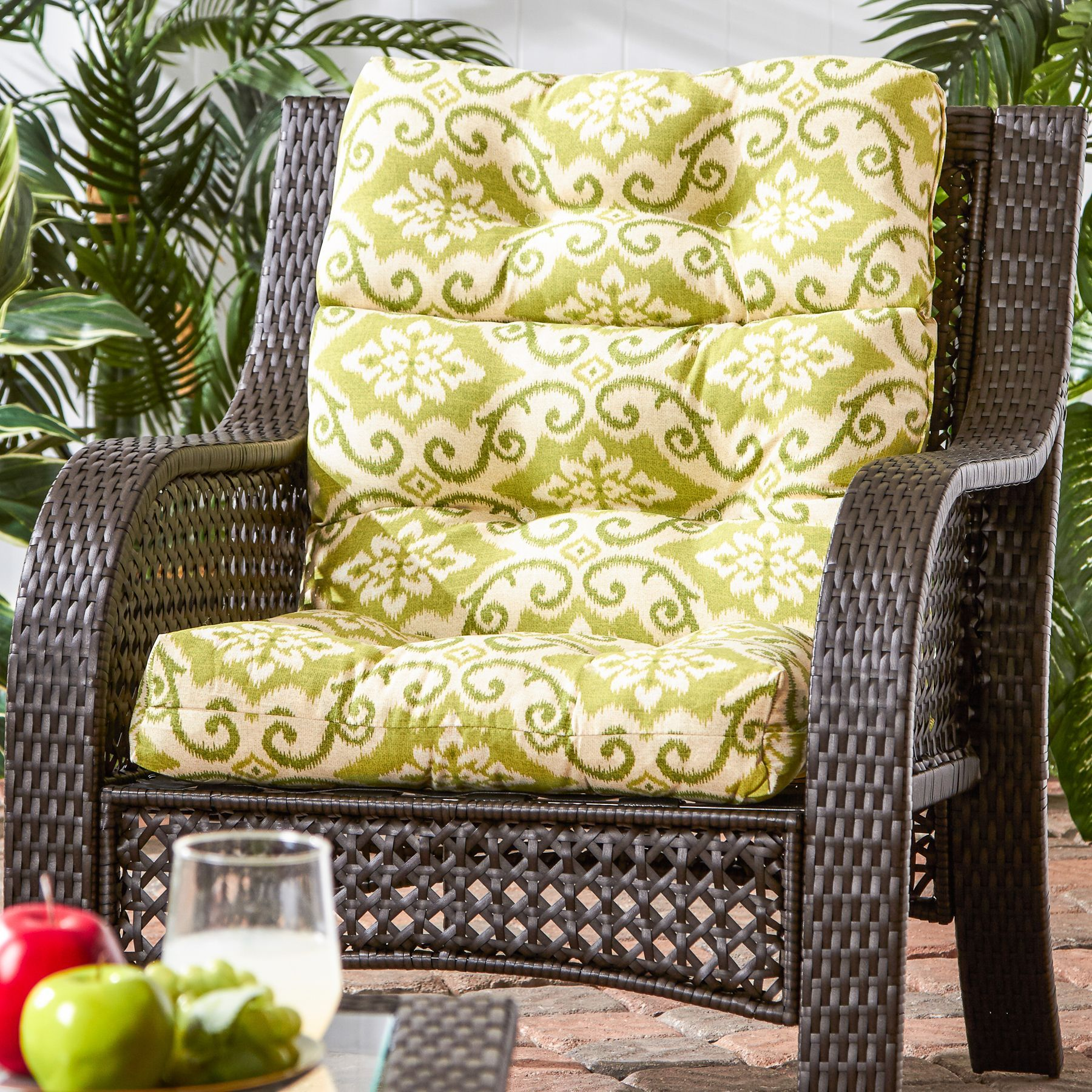 Havenside Home Cocoa Beach 22 Inch X 44 Inch Outdoor High Back