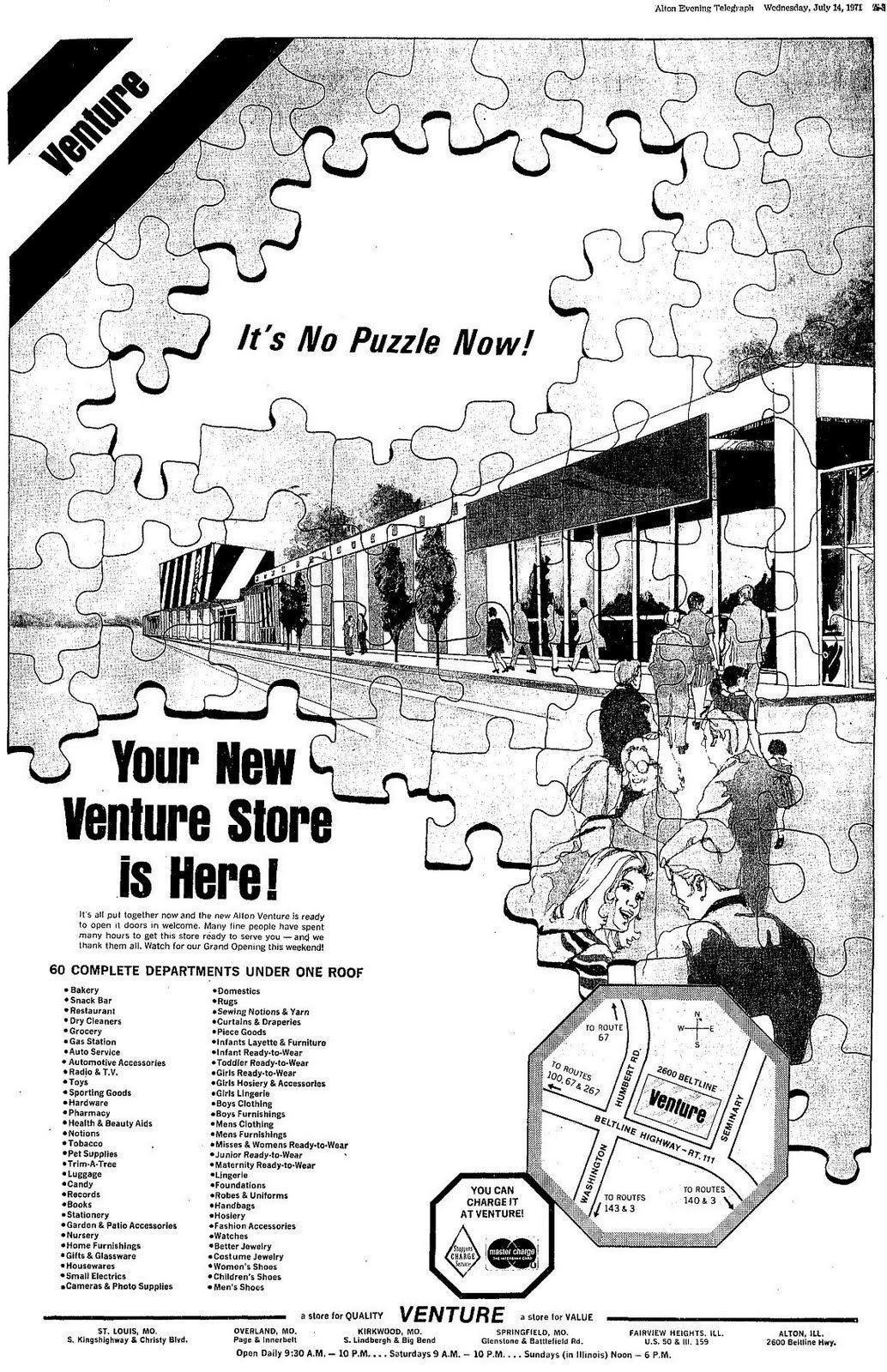 Venture Store Ad Alton Illinois 1980 Alton Venture Vintage Advertisements