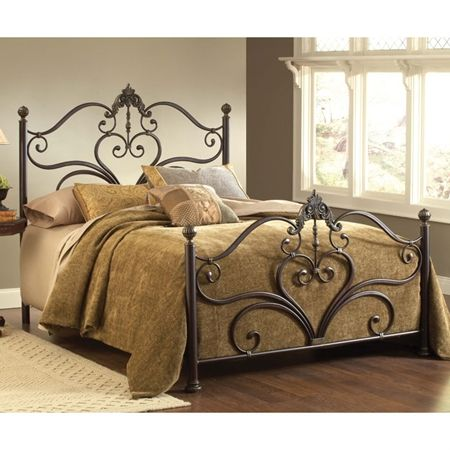 Newton Antique Metal Bed With Images Brown Bed Sets Brown Bed