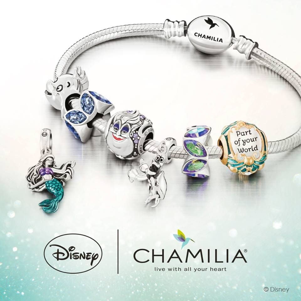 63bfa49e9 Disneys The Little Mermaid Chamilia Collection Coming Soon. Disneys The  Little Mermaid Chamilia Collection Coming Soon Disney Pandora Bracelet ...