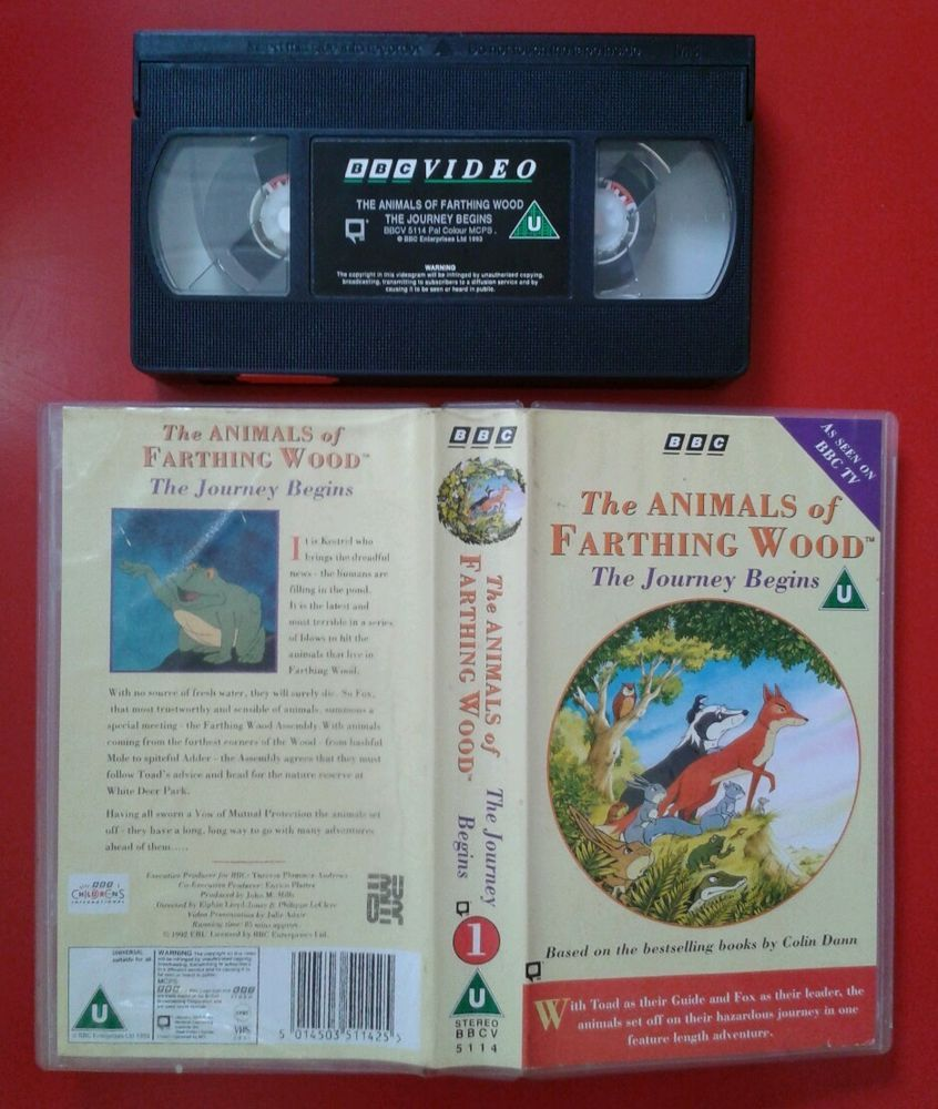 ANIMALS of FARTHING WOOD JOURNEY BEGINS / VIDEO PAL