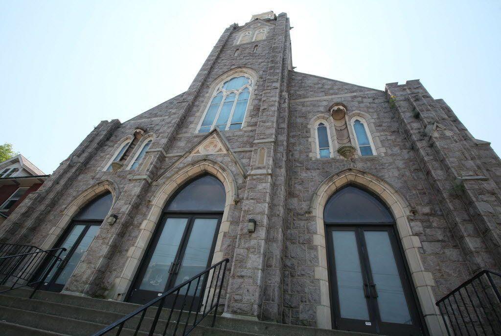 St. John Capistrano Catholic Church, Bethlehem, PA. The last shuttered South Side Bethlehem Catholic church was sold in 2008.
