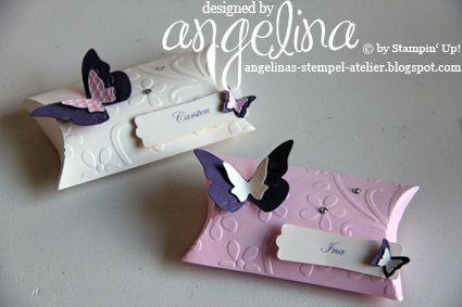 angelinas stempel atelier: Damen in Rosa, Herren in Vanille