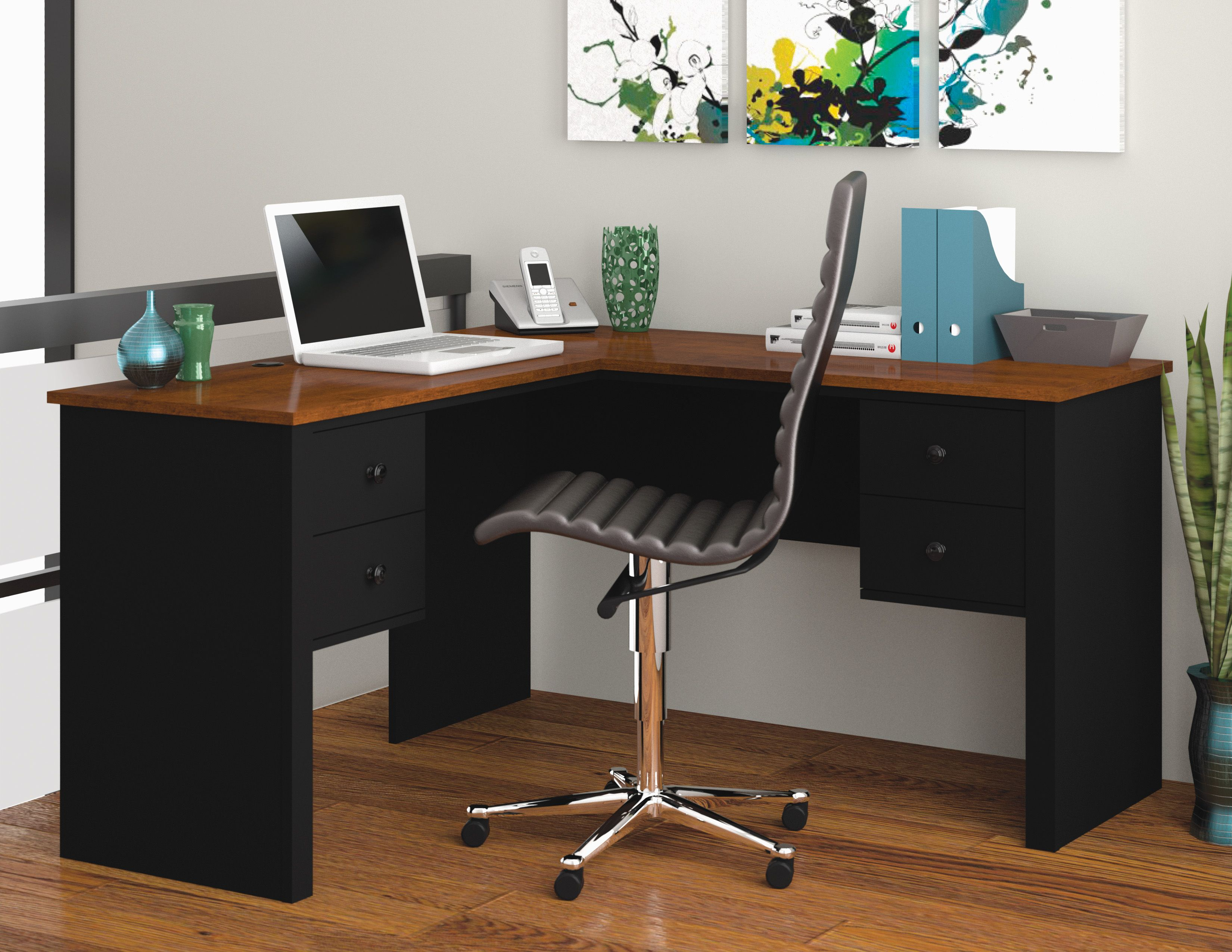 Somerville l shaped desk somerville bureau en l decor
