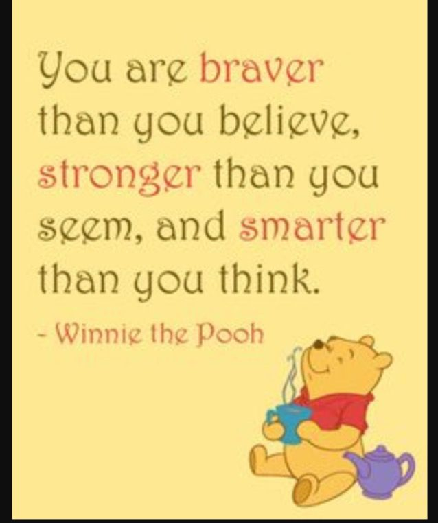 Always Believe In Yourself Quotes Winnie The Pooh Quotes Quotes