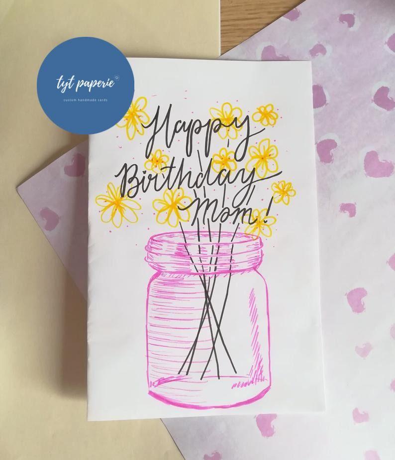 Custom Birthday Cards Personalized Birthday Card Custom Birthday Gift Birthday Gift For Friends Birthday Gift For Family Custom Birthday Gifts Personalized Birthday Cards Birthday Cards