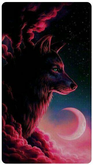 My Spirit Animal The Lone Wolf Papel De Parede De Lobo Pintura De Lobo Papel De Parede De Animais