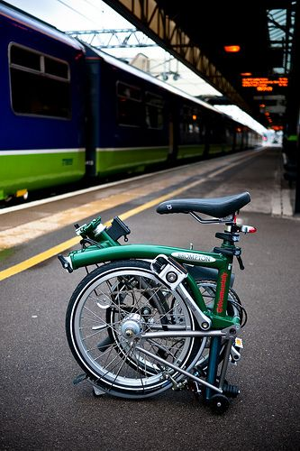 Folded Brompton S3L-X | Flickr - Photo Sharing!