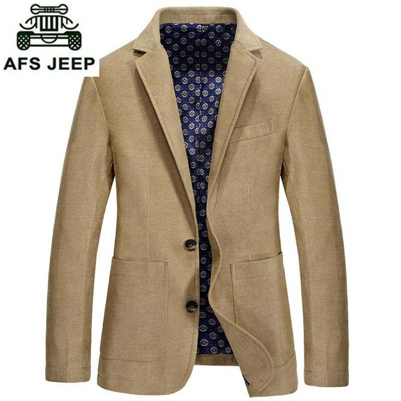Click To Buy Afs Jeep Leisure Coats Mens Suit Autumn Jackets