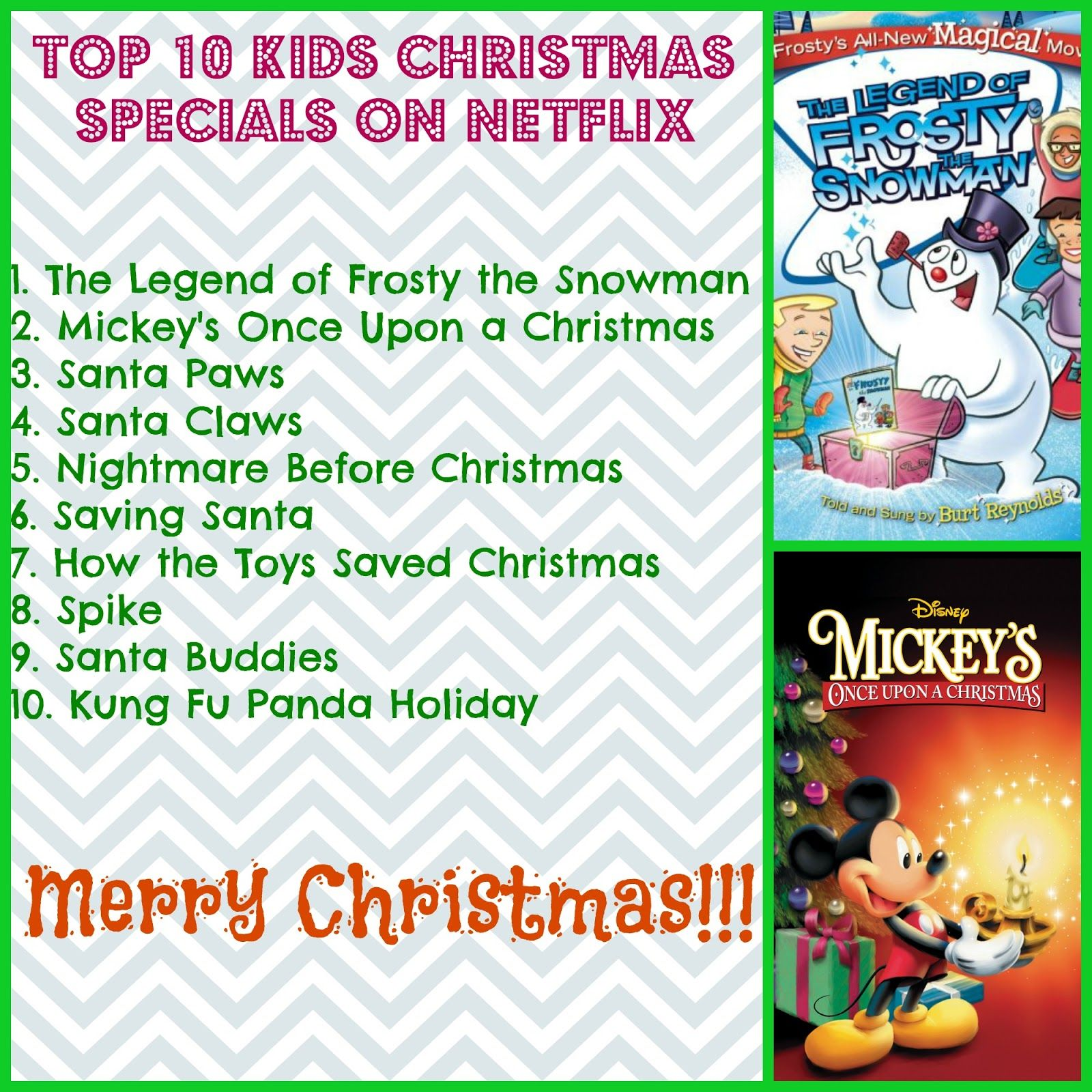 Top 10 Kids Christmas Specials on Netflix in 2015 | Christmas Crafts ...