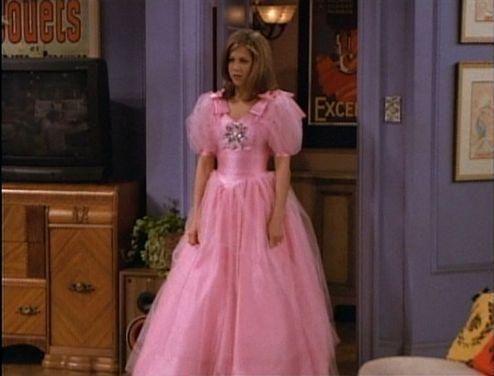 Rachel Green As A Bridesmaid All Things Pink Rachel Green Estilo