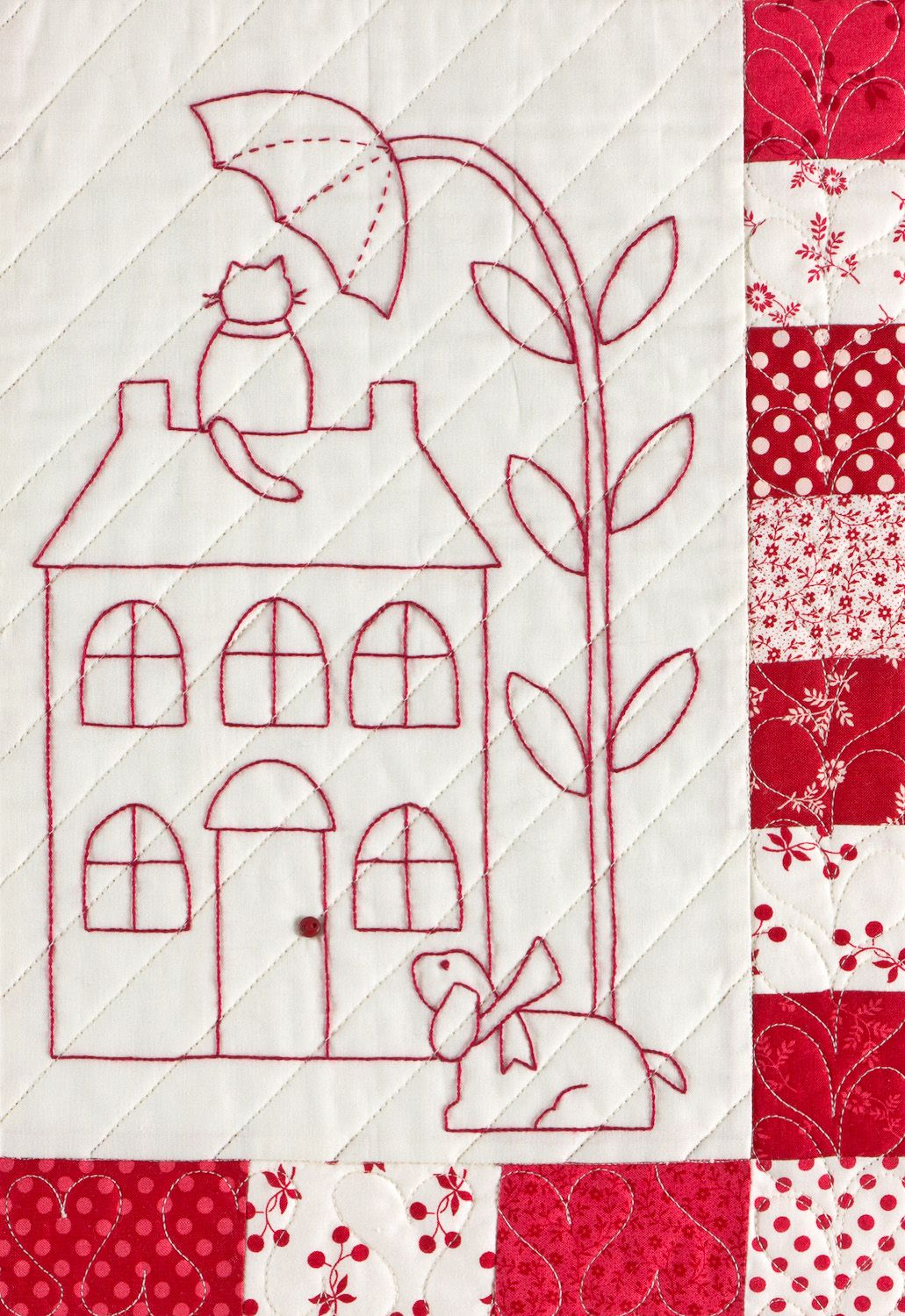Redwork patterns free have you ever wondered how to quilt a redwork patterns free have you ever wondered how to quilt a redwork quilt bankloansurffo Gallery