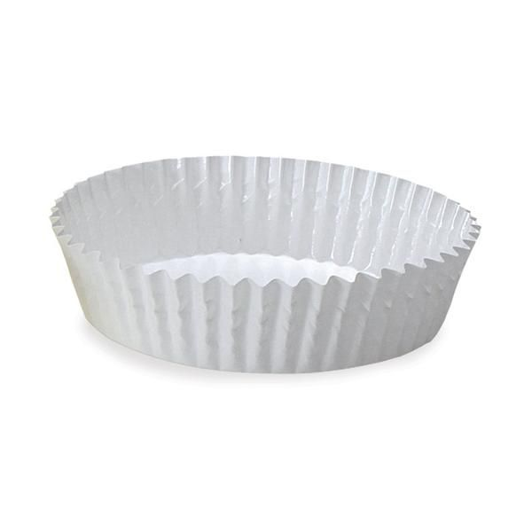 Welcome Home Brands 4 Ruffled Baking Cup White Baking Cups Baking