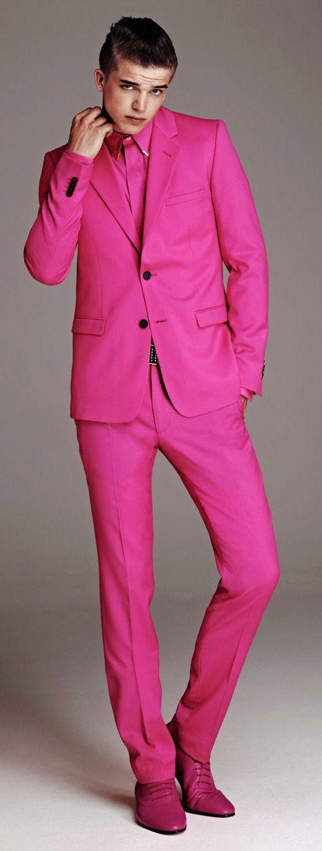 Seductive Versace for H&M | Pink suit, Versace pink ...