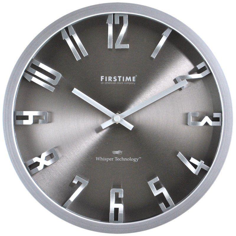 Kilgore 10 Steel Dimension Wall Clock Wall Clock Clock Round Wall Clocks