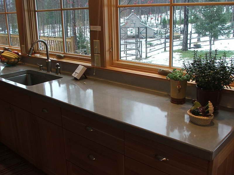 Charmant Kitchen : Why Choosing Concrete Countertops Michigan With The Plants Why  Choosing Concrete Countertops Michigan Concrete Countertops Diyu201a Cost Of  Granite ...