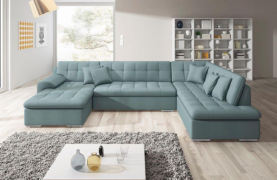 Trendmanufaktur Wohnlandschaft, wahlweise mit Bettfunktion Jetzt - wohnzimmer sofa braun