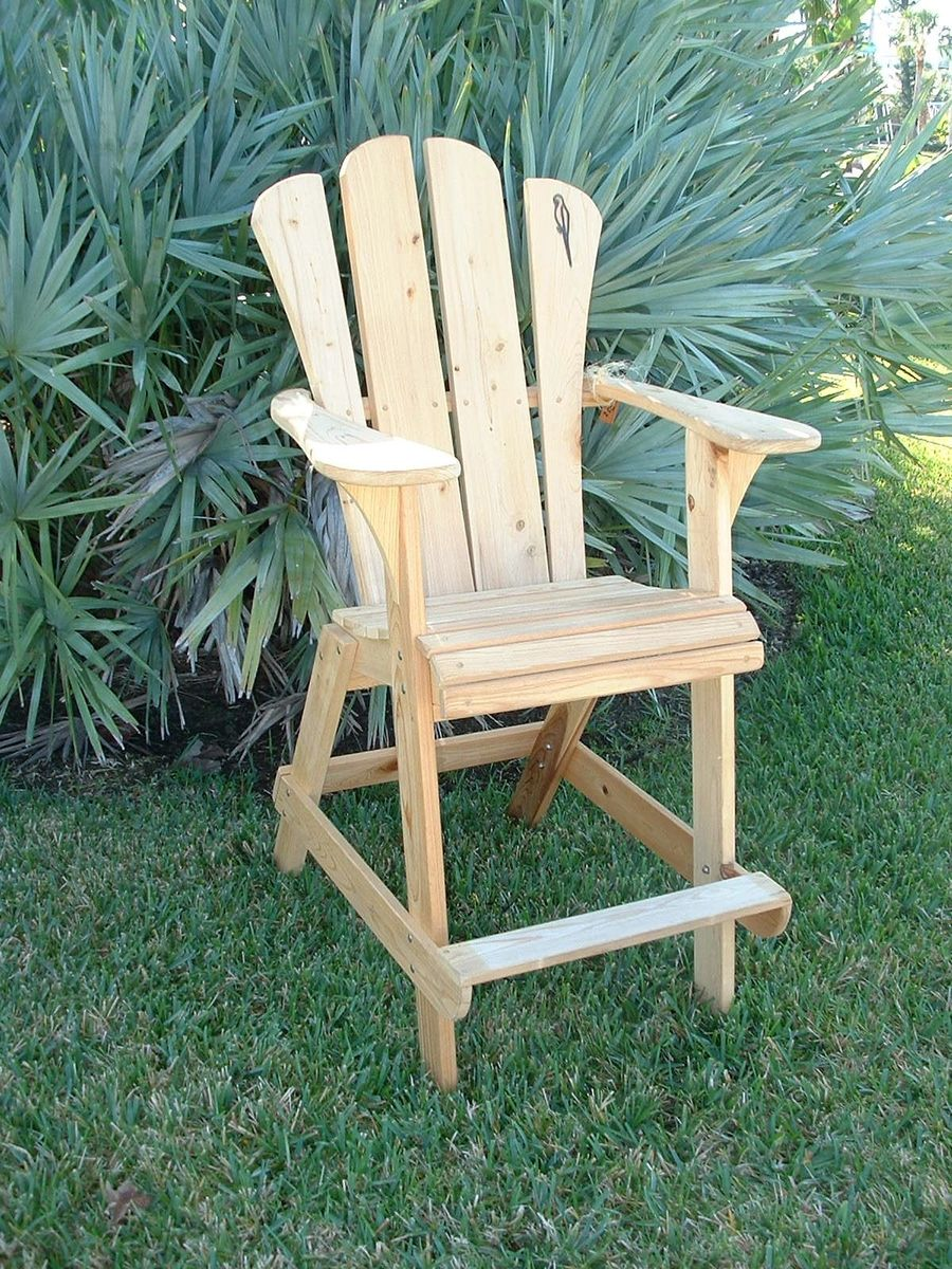 Adirondack Chair Extra Tall Design Outdoor Woodworking