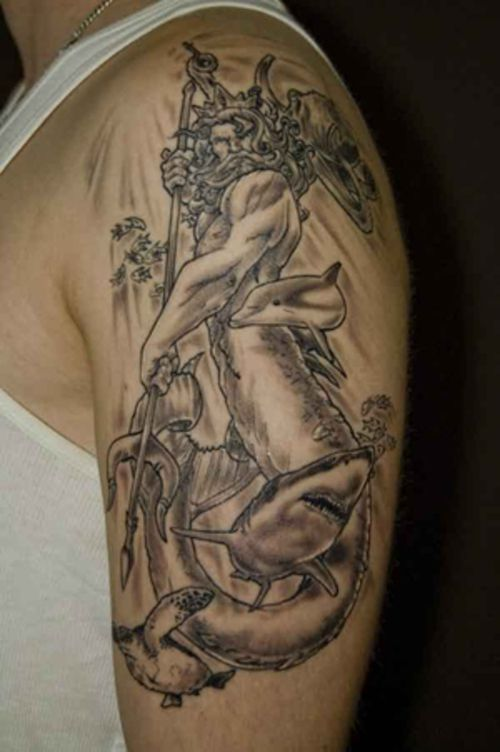 Neptune | ink. | Pinterest | Tattoo and Tatting