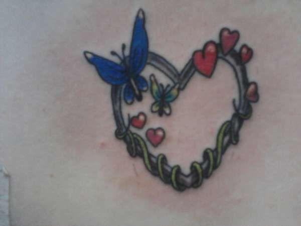 Love Butterflies Tattoo