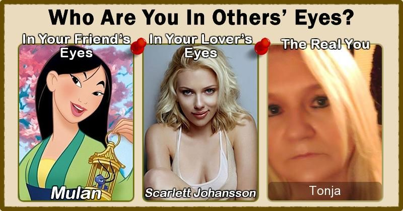 Who Are You In Others' Eyes?