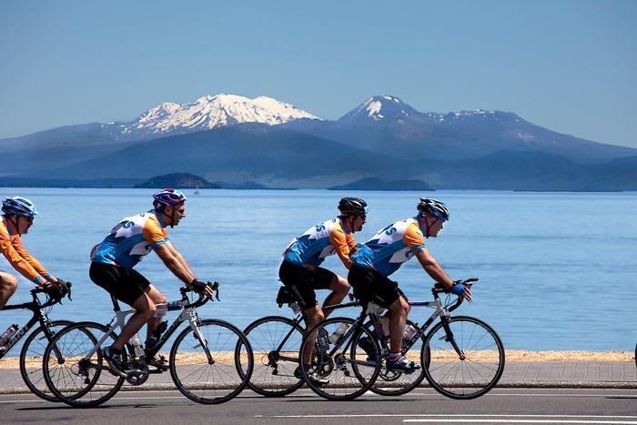 Contact Lake Taupo Cycle Challenge - Thousands of cyclists will pedal their way around the shores of beautiful Lake Taupo in November, taking part in one of the world's premier cycling races. #newzealand