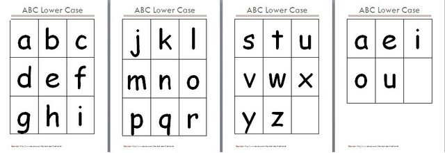 picture about Abc Flash Cards Printable named Pin upon Clroom Exciting!