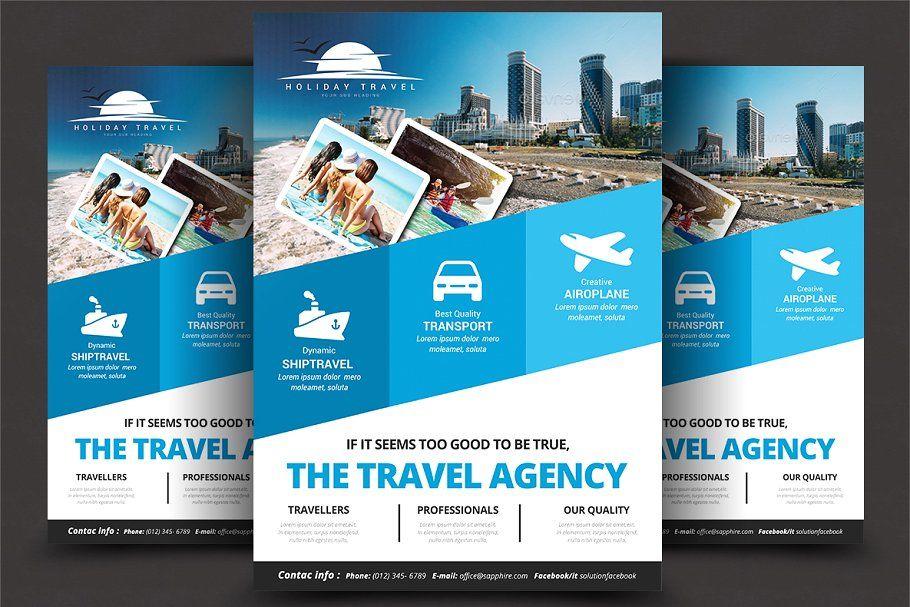 Travel Agency Flyer Templates AgencyTravelTemplates