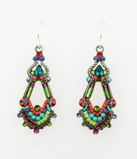 Amazon com: Firefly Multi Color Drop Swarovski Crystal