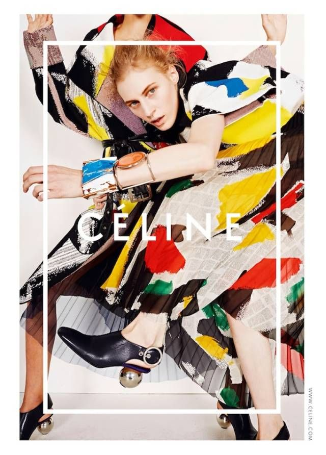 Celine's new ad. Check out the best ads for Spring 2014 here!