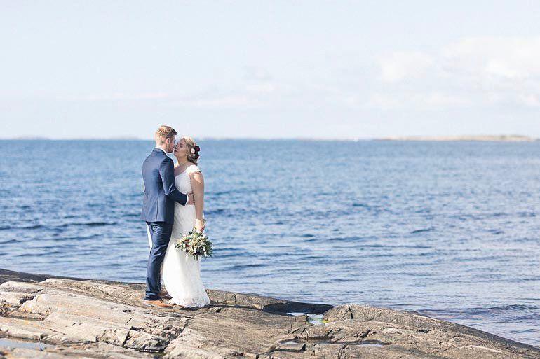 Klipporna i Rödskär. Sommar hav och bröllop. Ditte & Steen fantastiska ni vilken glädje att få dela dagen med er. #septemberhimmel