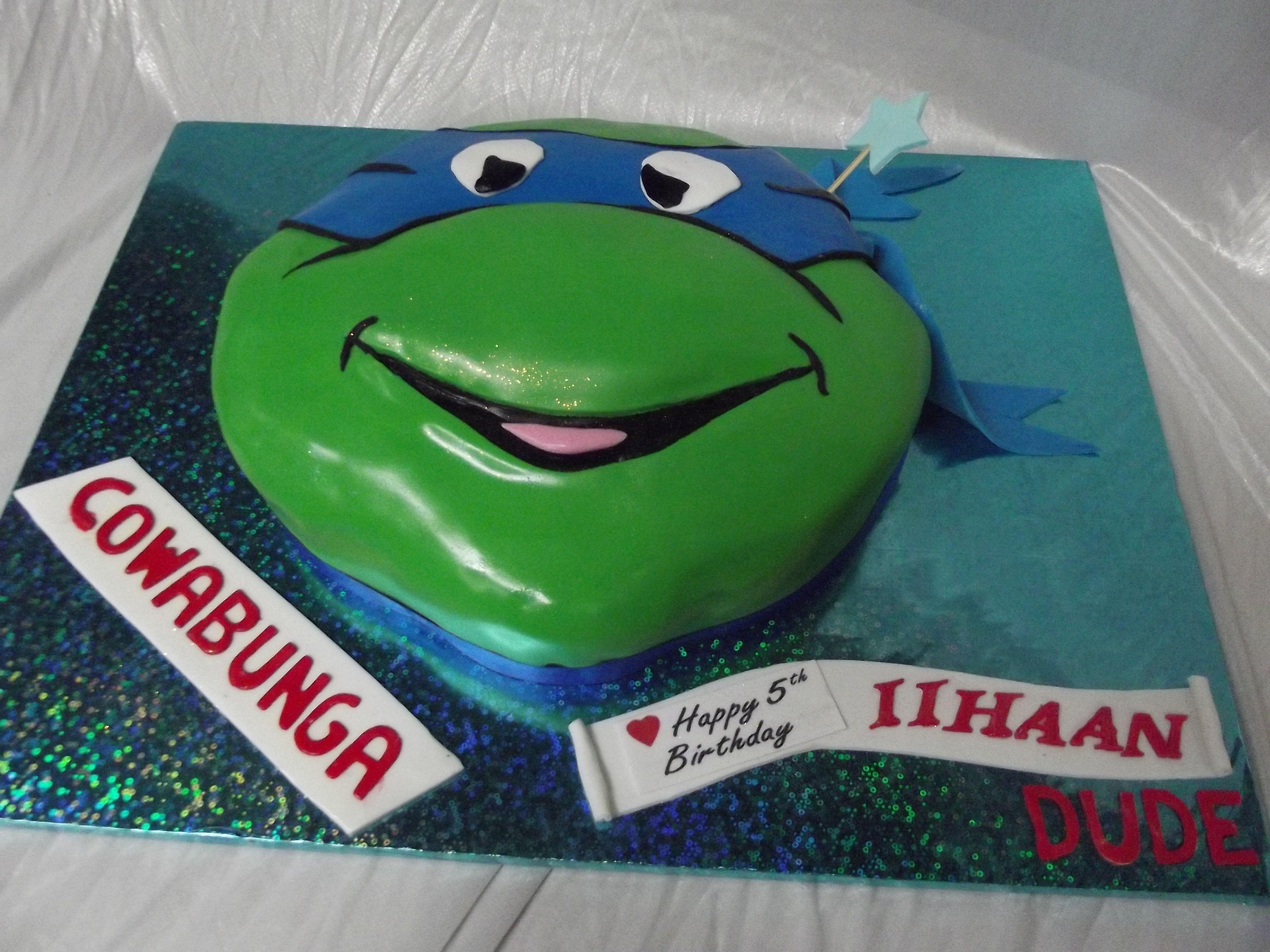 NINJA TURTLE BIRTHDAY CAKE wwwfrescofoodsconz frescowooshconz