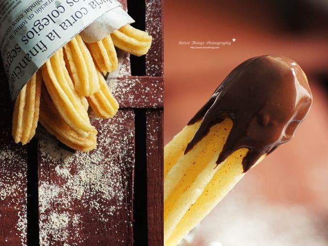 * N i c e s t T h i n g s *: Churros And Chocolate