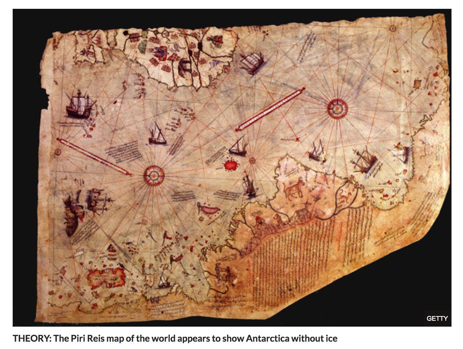 Piri Reis Karte Atlantis.Endgame Ii The Antarctic Atlantis And Ancient Et Ruins