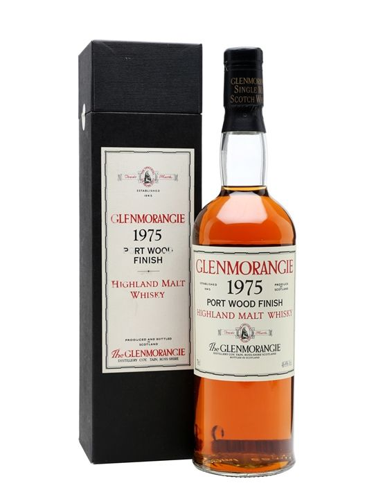Glenmorangie 1975 - Bot.1994 - Port Wood Finish Scotch Whisky : The Whisky…