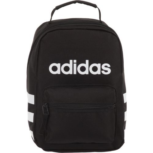 46eebabf2e9 Adidas Santiago Insulated Lunch Kit Black - Personal Coolers-Soft/Hard at  Academy Sports