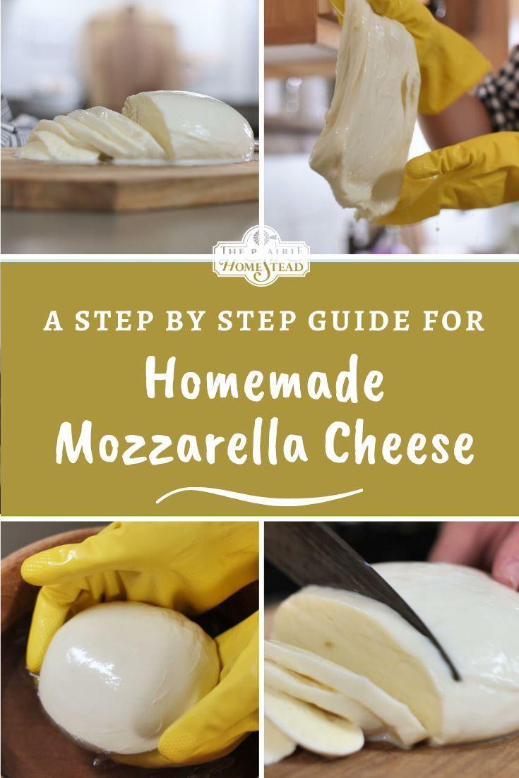 How to Make Mozzarella Cheese • The Prairie Homestead