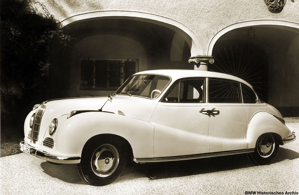 1952 BMW 501 | Classic Cars | Pinterest | BMW, Cars and Bmw classic
