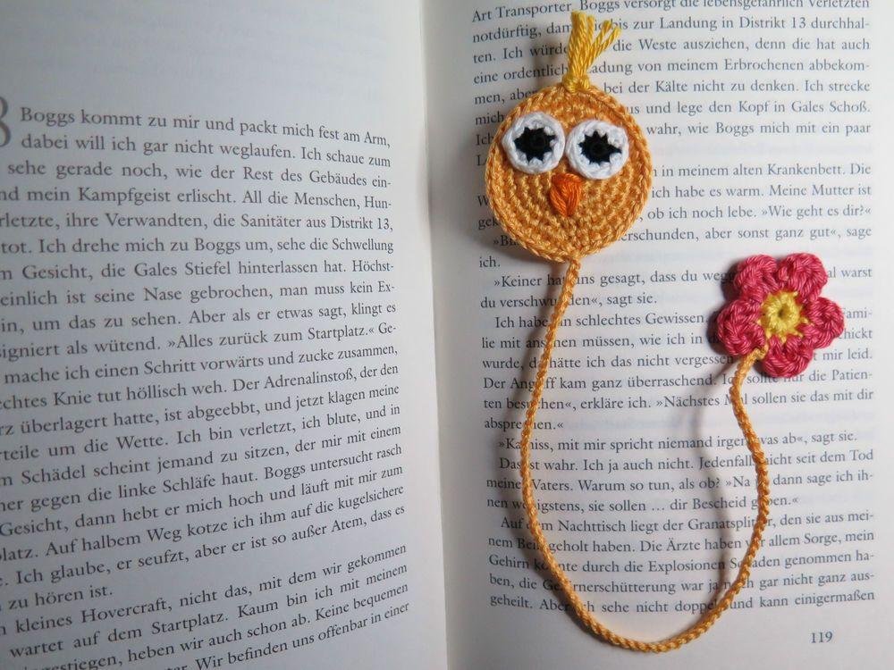 Lesezeichen Küken Gehäkelt Häkeln Amigurumi U A Pinterest