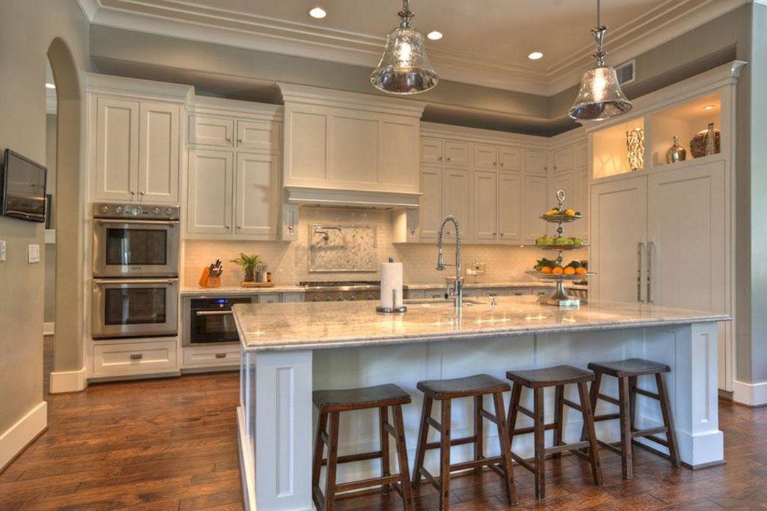 Wonderful Modern Kitchen Island Design Ideas (95 Photos)   Furniture on oak kitchen island ideas, kitchen island with wheels, kitchen pantry storage ideas, kitchen island storage ideas,